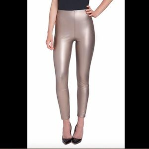 Lysse Jones Faux Leather Metallic Leggings